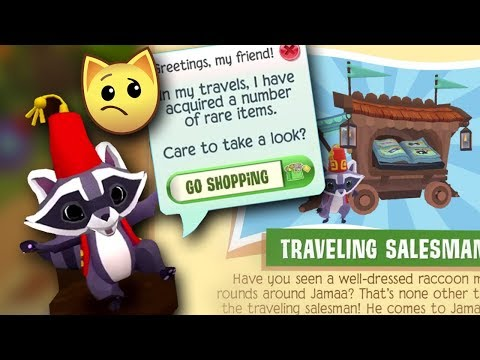 My Problem With The Salesman in Play Wild Animal Jam