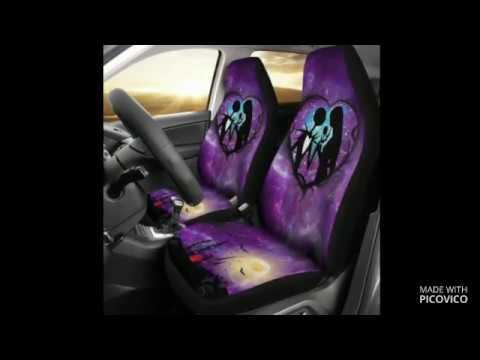 The Nightmare Before Christmas Car Seat Cover