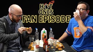 Hot Ones Fans Cheat Death While Eating Spicy Wings | Hot Ones Fan Episode