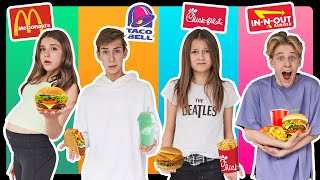 LAST To STOP EATING FAST FOOD Wins $10,000 Challenge! **BAD IDEA**🍔💰| Sophie Fergi @Piper Rockelle