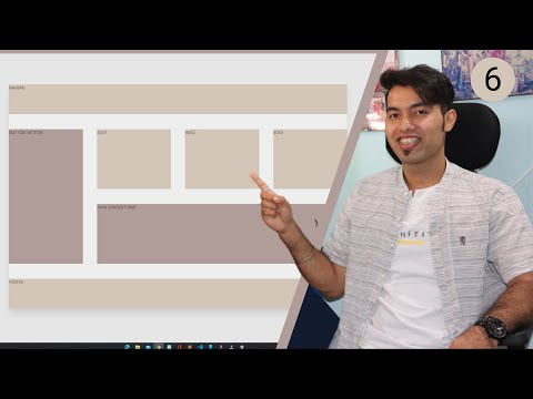 Create Website Layout with CSS GRID in Hindi 2021
