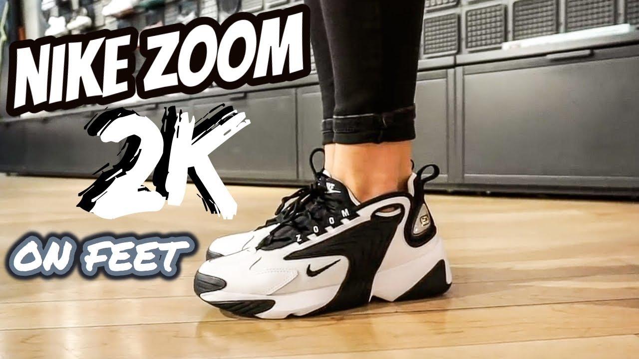 NIKE ZOOM 2K On Feet - YouTube