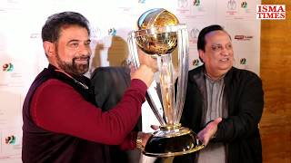 ICC World Cup Trophy Unveiling By Surinder Khanna And Chetan Sharma