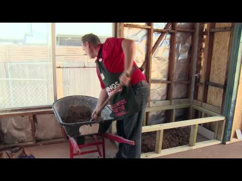 How To Make A Mortar Bed For A Bath - DIY At Bunnings