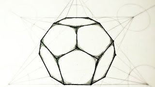 How To Draw Dodecahedron - The 5 Platonic Solids