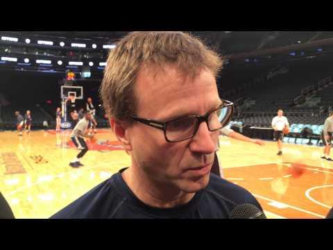 Brooks: Shootaround in New York