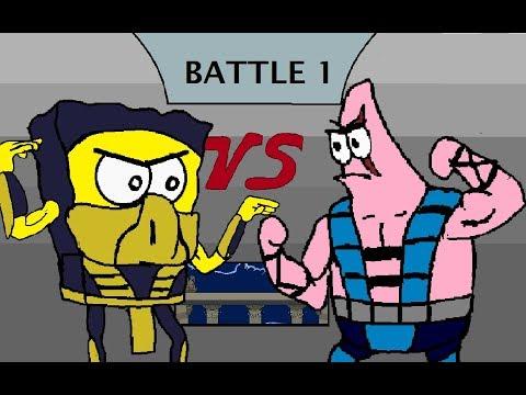 Mortal Kombat Spongebob Edition GAMEPLAY thumbnail