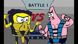 Mortal Kombat Spongebob Edition GAMEPLAY