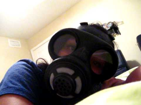 how to turn a gas mask into a bong