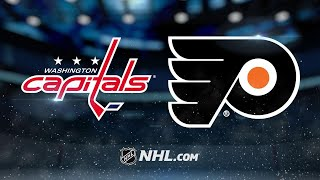 Giroux leads Flyers to rout of Caps in 8-2 win