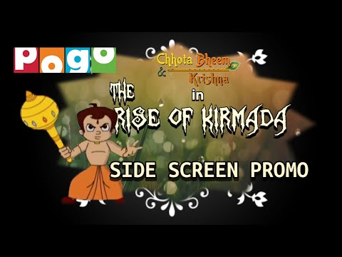 Download Chhota Bheem Krishna In The Rise Of Kirmada Side Screen Promo And Full Movie Link In The description