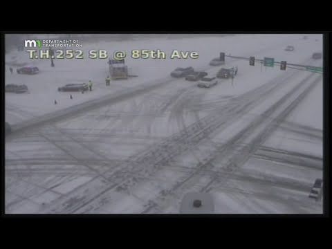 Snow Makes For Dangerous Day On Minnesota Roadways