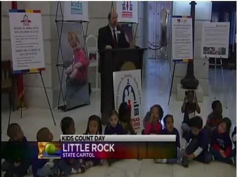 KARK on AACF Kids Count Day at the Capitol