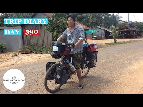 Cycling The World - Day 390 - The Real Cambodia
