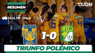 Resumen | Tigres Femenil 1 - 0 León Femenil | Liga MX Femenil - Ap19  - J16 | TUDN