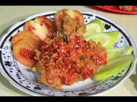 Video channel berita nyata indonesia kali ini berbagi rahasia tentang cara membuat sambal bawang yang bisa digunakan untuk ayam geprek atau pendamping makana. Ayam Geprek Krispy Sambel Bawang Youtube