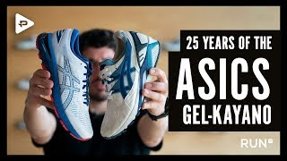 25 YEARS OF THE ASICS GEL-KAYANO