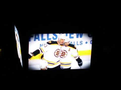 Boston Bruins Christmas Themed Intro 12/13/14 vs Ottawa Senators