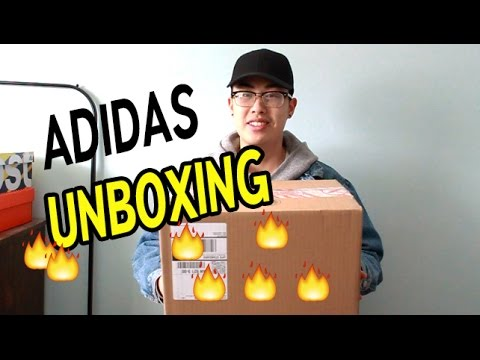 126c011ab9688 VERY LIMITED!! ADIDAS SNEAKER UNBOXING - YouTube