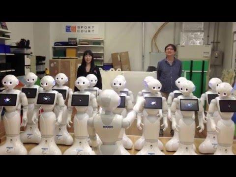 Un coro de robots hace de las suyas al interpretar la Novena Sinfonía de Beethoven