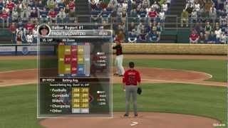 MLB 2k12 PC GTX 460 gameplay