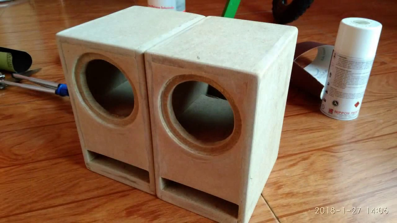 diy bookshelf transmission lines fullrange speakers - youtube