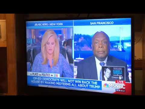 Willie Brown Has Message For Democrats Before California Primary On MSNBC