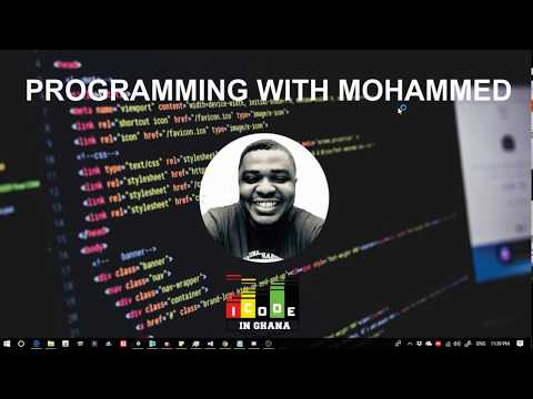 Coding With Mohammed #1