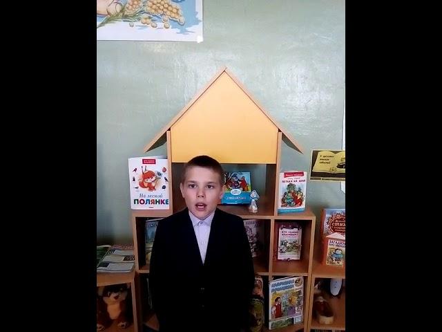Изображение предпросмотра прочтения – ИльяКотков читает произведение «Уж верба вся пушистая...» А.А.Фета