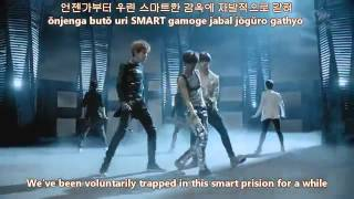 EXO- K  MAMA MV english subs + romanization + hangul