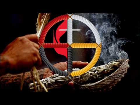 The Cross and the Medicine Wheel