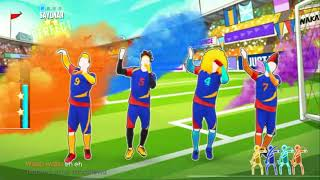 Just Dance 2018 • Waka Waka (Football Version)