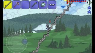 Прохождение игры Terraria на Андроид! Серия 6--- Атака гоблинов