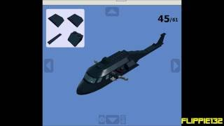 How To Make A Lego Black Hawk