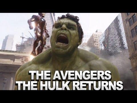 The Avengers Clip - Hulk Returns (Blu-Ray)