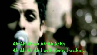 Green day   I Walk alone