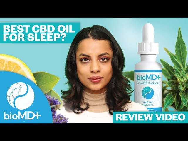 bioMDplus CBD - Review | Best CBD for Sleep