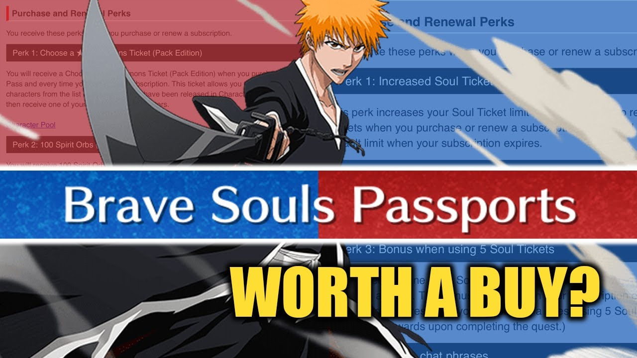 [Bleach Brave Souls] The Brave Souls PASSPORT has arrived!