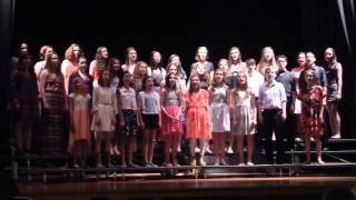"""Up On The Mountain Shouting"" (Caldwell/Ivory) by the Concert Choir of Franklin Middle School"