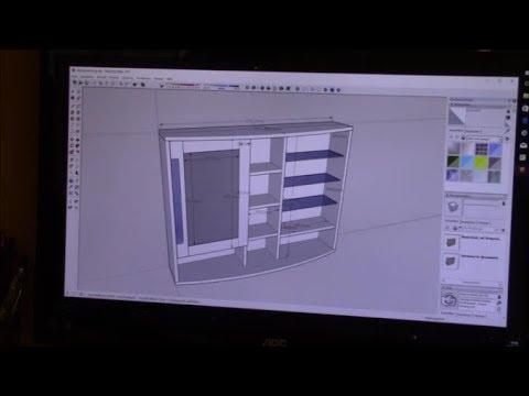 Badschrank mit Spiegel & Licht Teil 1 (Bath cupbboard build) - YouTube
