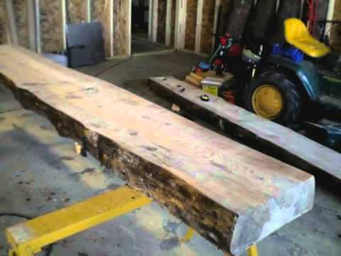 1 Building the original Woodworking Bench –  component 1 –  Milling the most effective Slabs