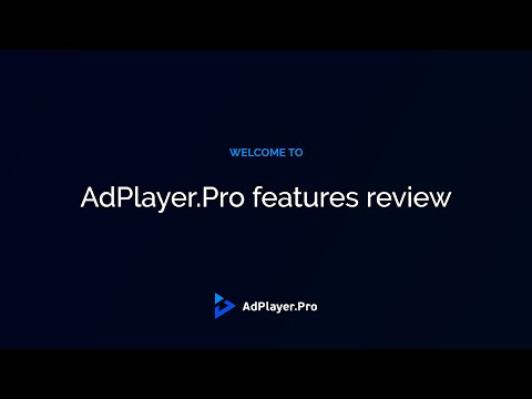 HMTL5 Video Player Features & Integration | AdPlayer.Pro