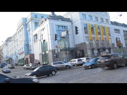 Life in Kiev, Ukraine: Life is Going on, People are Busy! Streets are Full of Cars!