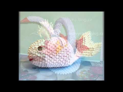 ORIGAMI 3D craft