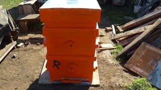 Реставрация улья на 28 рамок, апгрейд пасики