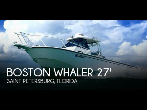 [UNAVAILABLE] Used 1997 Boston Whaler 27 Offshore in Saint Petersburg, Florida