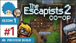 The Escapists 2 PL #1 w/ Eleven | Sezon 1 | Center Perks 2.0 - wspólna ucieczka!