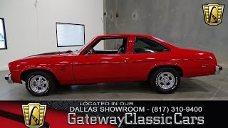 1977 Chevrolet Nova Stock #265 Gateway Classic Cars of Dallas
