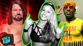 VELVETEEN DREAM TO MAIN ROSTER? AJ STYLES MATCH FINISH CHANGED? Going In Raw Podcast!