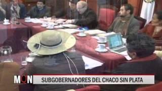 26/08/15 14:34 SUBGOBERNADORES DEL CHACO SIN PLATA